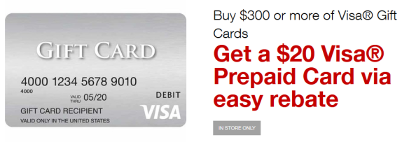 staples visa gift card offer